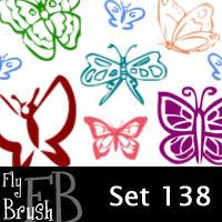 fly brush set 138