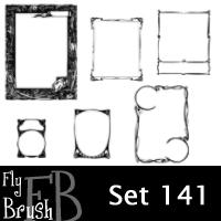 fly brush set 141 by FlyBrush