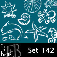 fly brush set 142 by FlyBrush