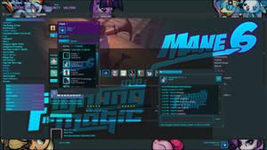 Mane6 Fighting is Magic Steam Skin