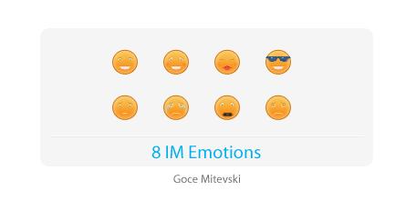 8 IM Emotions by monsteer