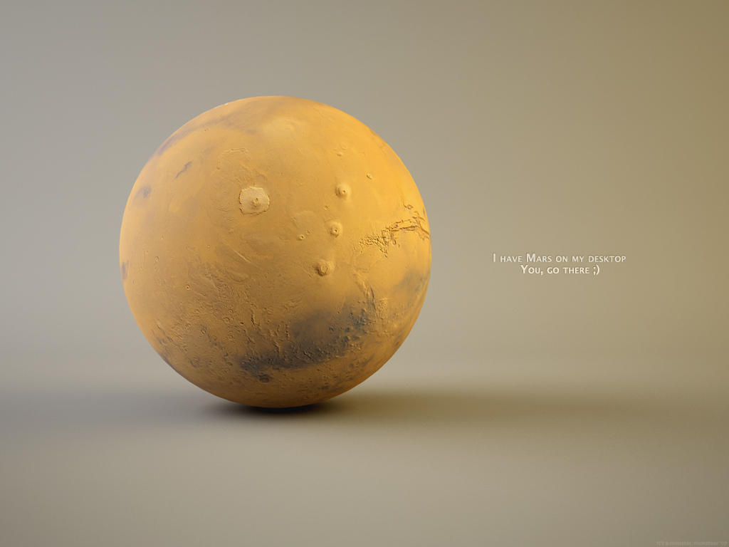 I've got Mars on my desktop by monsteer