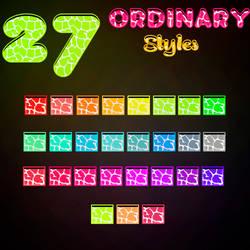 Ordinary Styles (Re-upload)