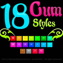 Gum Styles (Re-upload)