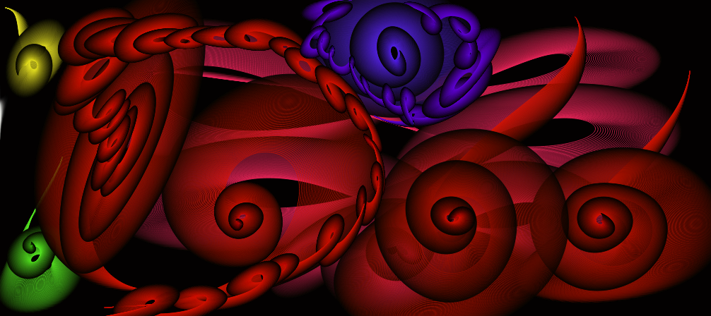 Untitled Drawing abstract swirls by Lillypop420