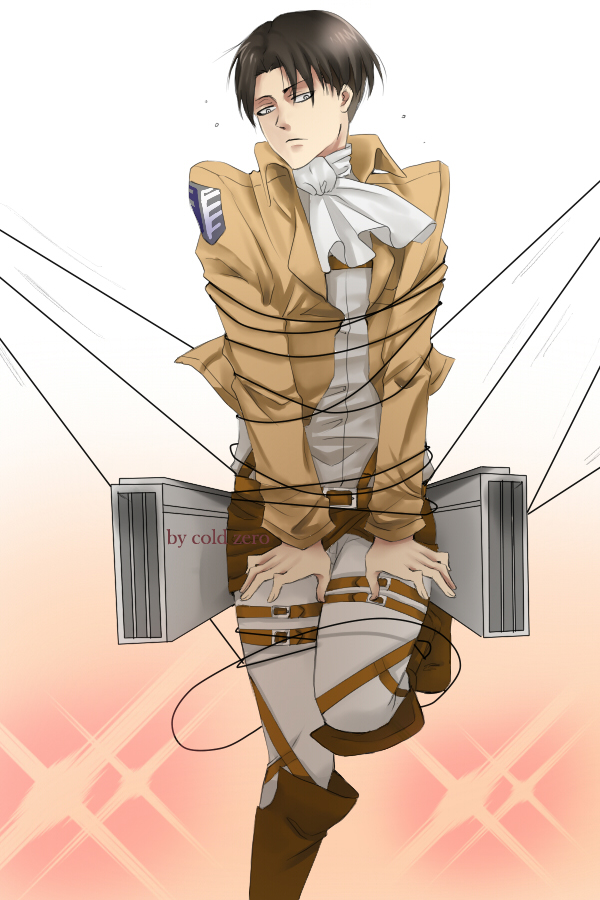 Levi x reader all tangled up pt 2 by godsgirlrachel on deviantart