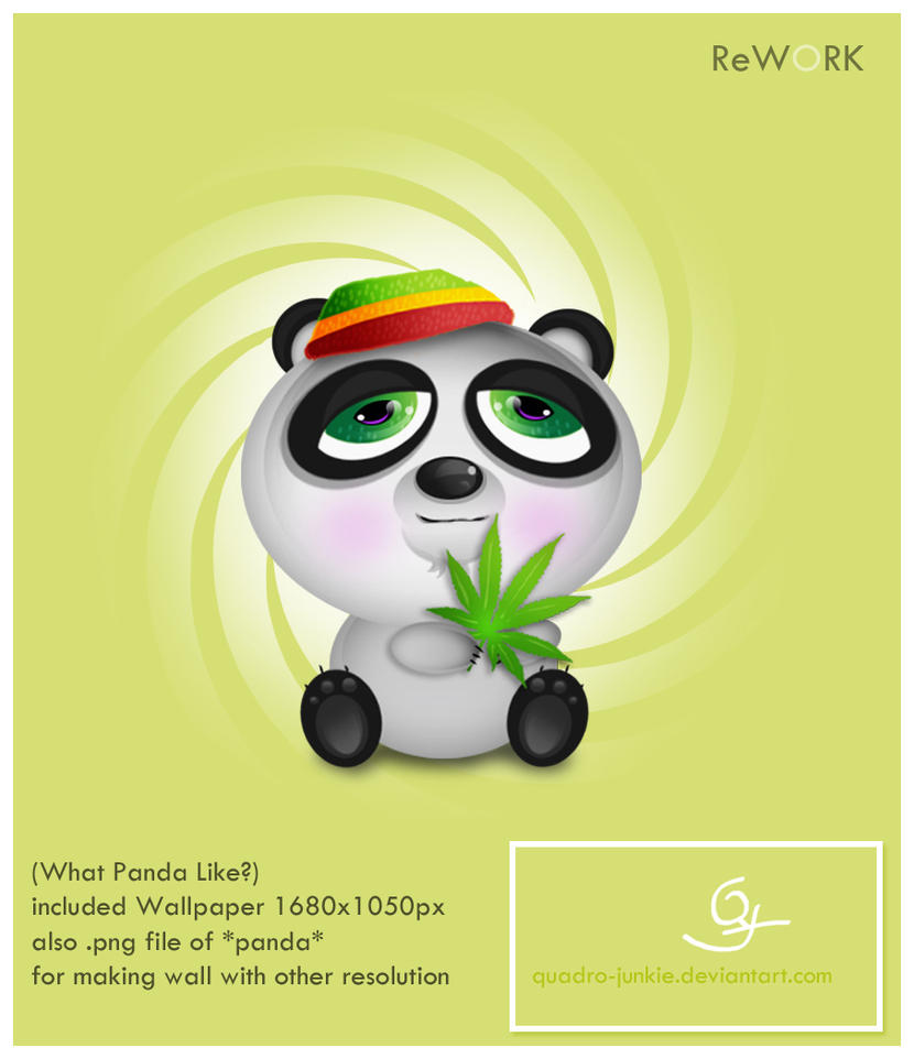 What Panda Like? ReWork by quadro-junkie