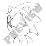 Sonic animation - Pencils by Protossgp32