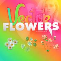 ++Vector Flowers by ExpertforLight