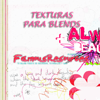 Pack de Texturas para Blends by FamousResources