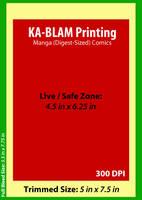 KaBlam Manga Digest Specs