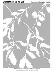 LOOMtones C02 Gray Foliage by LoomStudioCo