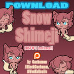 Snow Shimeji [Cut/Uncut] [NSFW-] | COMMISSION by VonKellcsiis