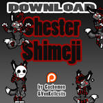 Chester Shimeji | COMMISSION