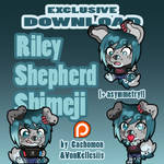 Riley Shepherd Shimeji | COMMISSION