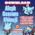 Aleph Shimeji | COMMISSION