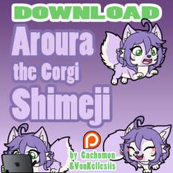 Aroura the Corgi Shimeji | COMMISSION