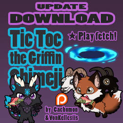 Tic Toc the Griffin Shimeji UPDATE | COMMISSION