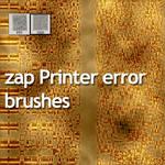 Print error - zap