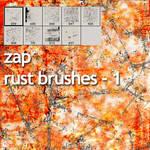 rust brushes zap