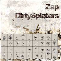 Dirty Splaters by zap-br