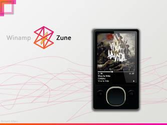 Winamp Zune by elralfaro