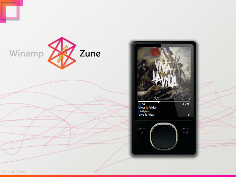 Winamp Zune by elralfaro