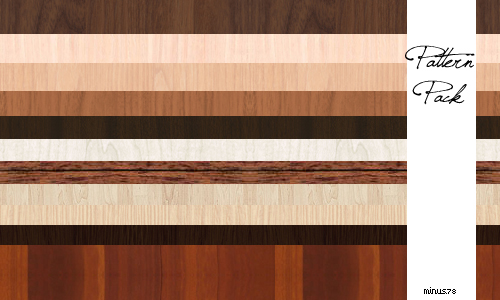Wooden Pattern Pack by minus78