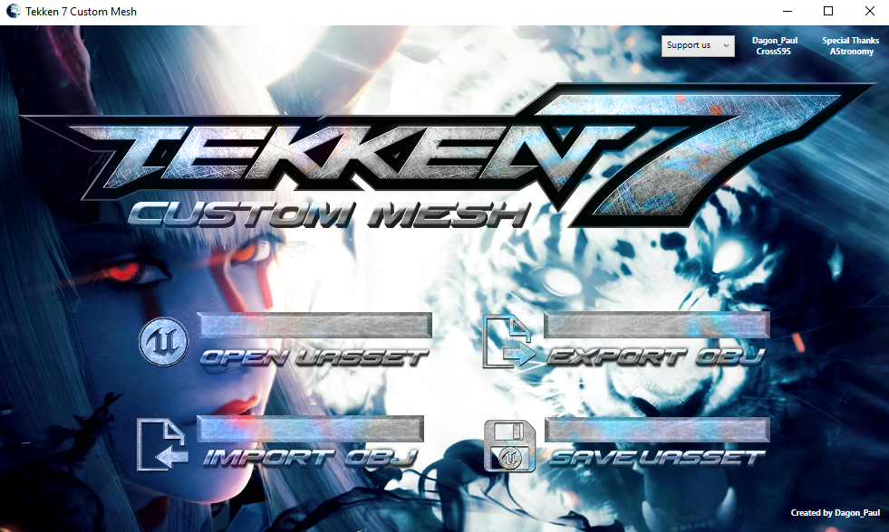 Tekken 7 Custom Mesh By Dragon Paul On Deviantart