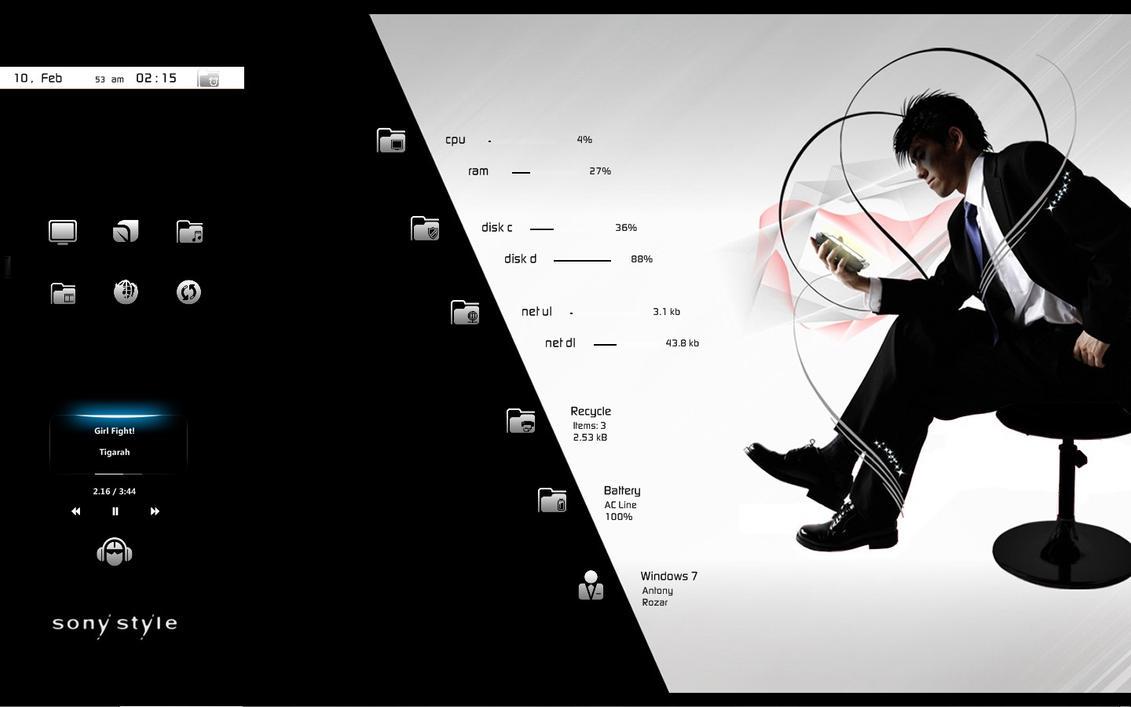 :: SONY STYLE :: by DarkEagle2011