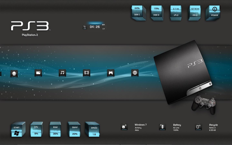:: SONY PLAYSTATION 3 :: by DarkEagle2011