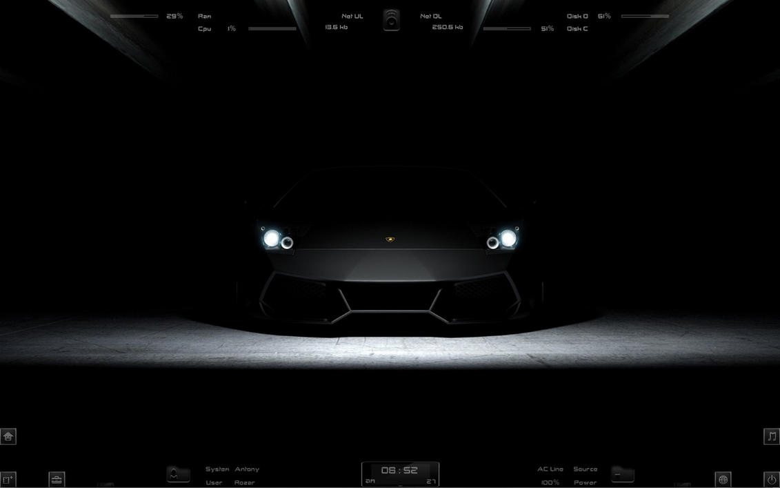 :: LAMBORGHINI :: by DarkEagle2011