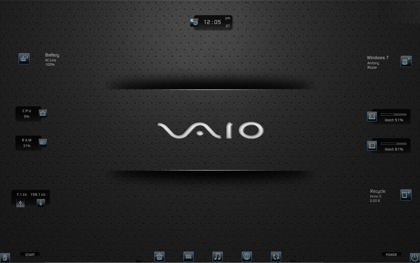 :: VAIO :: by DarkEagle2011