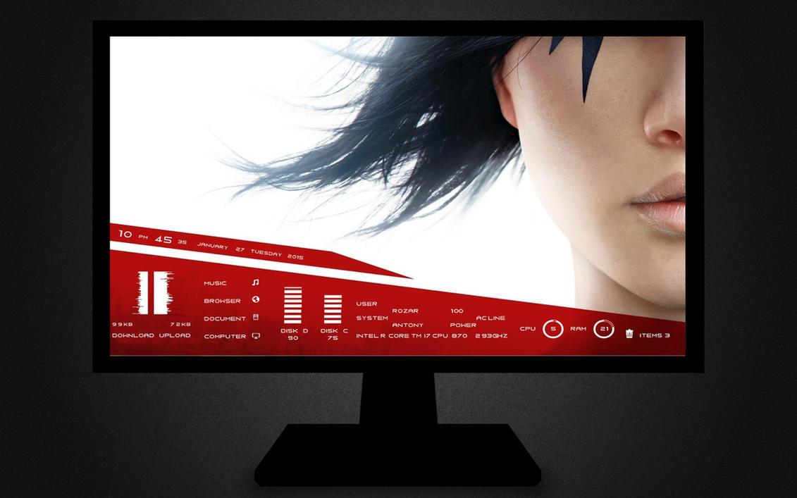 :: MIRRORS EDGE :: by DarkEagle2011