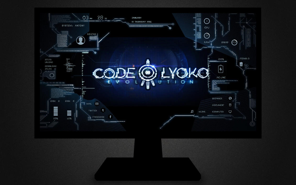 :: CODE LYOKO :: by DarkEagle2011