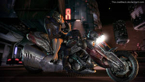 Omega - Garrus and Jane