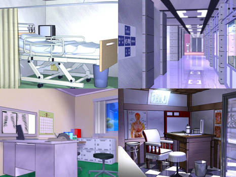 Various Hospital Rooms
