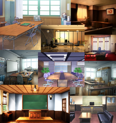 Nov_Backgrounds!: Conference Rooms
