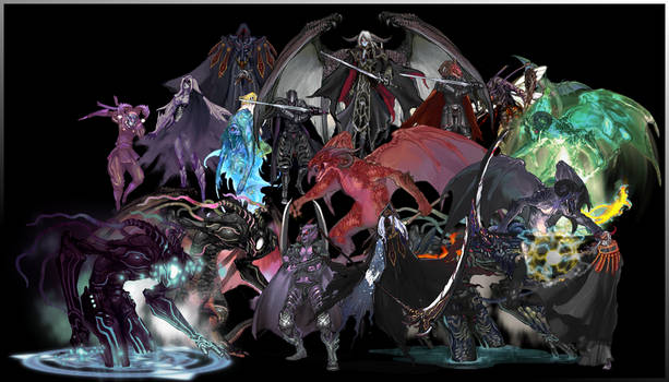 Nov_Characters: Monster Mash!