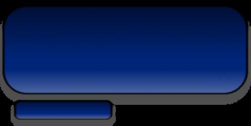 Simple Blue Text Box