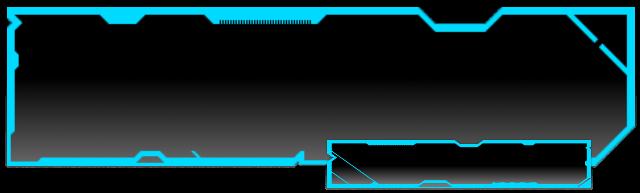 Futuristic TRON Text Box