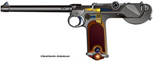 French MAB model D pistol - HLebooks com by cungya on DeviantArt