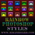 Rainbow Photoshop Styles