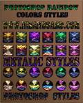 Rainbow Color Styles