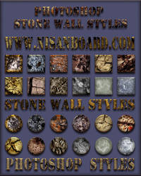 Stone Wall Styles by nisanboard