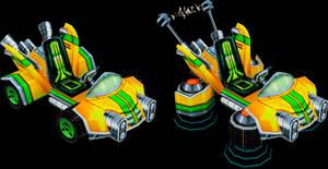 N. Oxide Team Kart (Crash Nitro Kart) Model