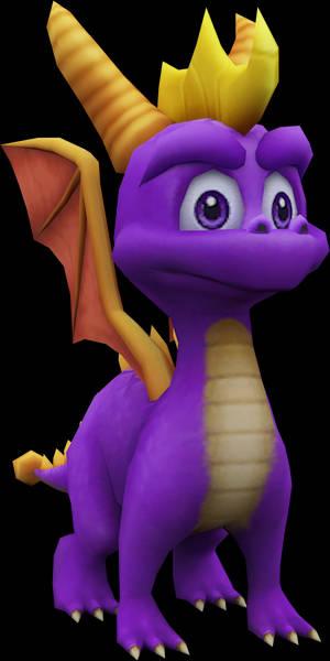 Spyro (Spyro A Hero's Tail) Model