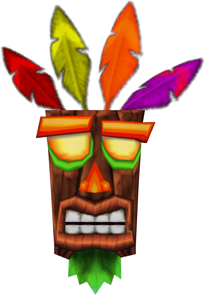 Prime Props: Aku Aku Mask-Crash Bandicoot