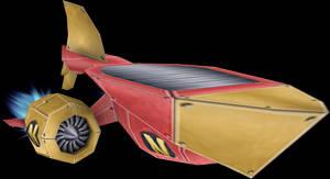 Hoverboard (Crash Twinsanity) Model