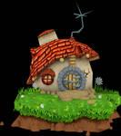Bandicoot House (Crash Nitro Kart) Model